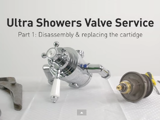 Ultra Dual Valve Disassembly and Cartridge Replacement